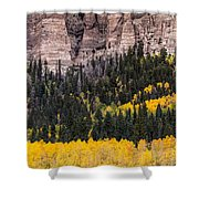 Rock Ledge Shower Curtain