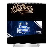 Rock N Blast 10th Anniversary Shower Curtain