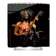 Rock N Roll Shower Curtain