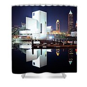 Rock N Roll Hall Of Fame Shower Curtain