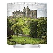 Rock Of Cashel Cashel County Tipperary Shower Curtain