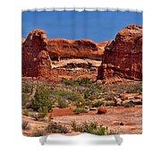 Rock Pinnacles 3 Shower Curtain