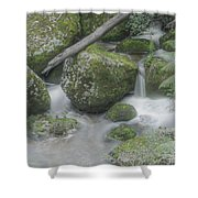 Rock Pool Shower Curtain