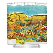 Rock Springs Shower Curtain