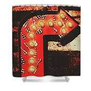 Rock Through This Way Shower Curtain
