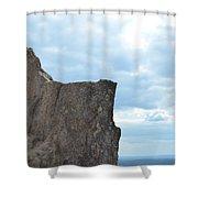 Rock Top Shower Curtain