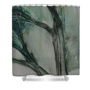Rock Tree Shower Curtain