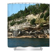 Rock With Colors Shower Curtain