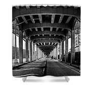 Rockaway Freeway, Queens New York Shower Curtain