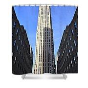 Rockefeller Center New York City Shower Curtain