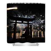 Rockets Red Glare Shower Curtain