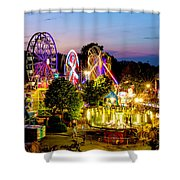 Rockford Carnival Shower Curtain