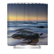 Rockin The Sunrise Seascape Shower Curtain