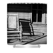 Rocking Chair Work A Shower Curtain