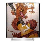 Rocking Dragon Shower Curtain