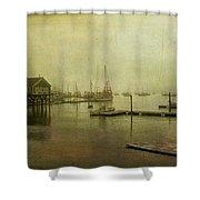Rockland Harbor Shower Curtain