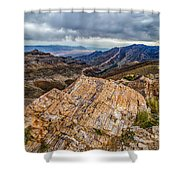 Rockline Shower Curtain