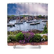 Rockport In Bloom Shower Curtain