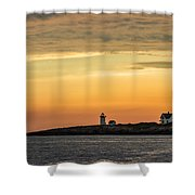 Rockport Lighthouse Shower Curtain