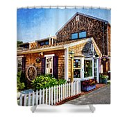 Rockport Ma Shower Curtain