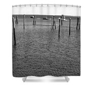 Rockport Piers 21 Shower Curtain