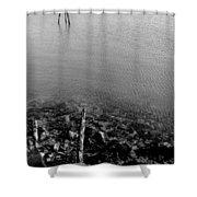 Rockport Shore Shower Curtain