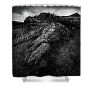 Rocks And Ben More Shower Curtain