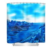 Rocks And Hard Places Shower Curtain