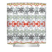Rocks And Lace Shower Curtain