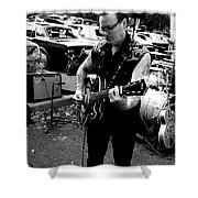 Rocks And Rolls Shower Curtain