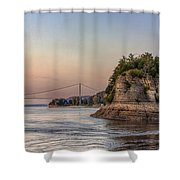 Rocks Shower Curtain
