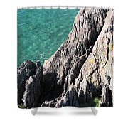 Rocks Of Kerry Shower Curtain