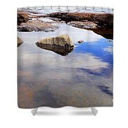 Rocks Of Lake Superior 1 Shower Curtain