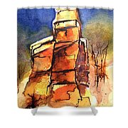 Rocks Of Lovett Shower Curtain