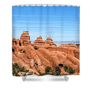 Rocksky Shower Curtain