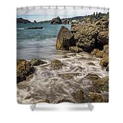 Rocky Coast Shower Curtain