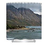 Rocky Coast Line Shower Curtain