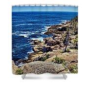 Rocky Coastline 1 Shower Curtain