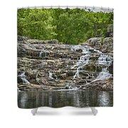 Rocky Falls Ozark National Scenic Riverways Dsc02788 Shower Curtain