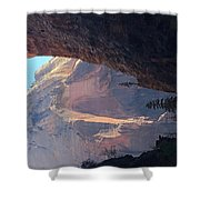 Rocky Growth  Shower Curtain
