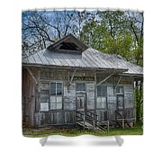 Rocky Hill Station Shower Curtain