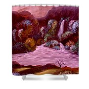 Rocky Inlet 3 Shower Curtain