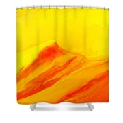 Rocky Landscape 122010 Shower Curtain