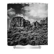 Rocky Landscape Shower Curtain