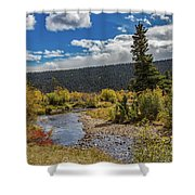Rocky Mountain Afternoon Shower Curtain