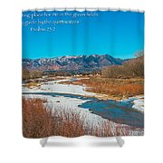 Rocky Mountain Shower Curtain