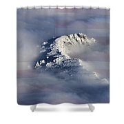 Rocky Mountain High - America The Beautiful Shower Curtain