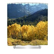 Rocky Mountain High Colorado - Landscape Photo Art Shower Curtain