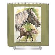 Rocky Mountain Horse Shower Curtain