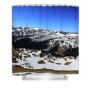 Rocky Mountain National Park Pano 2 Shower Curtain